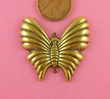Dapt Antique Brass Butterfly With 2 Rings-1 Pc(s)
