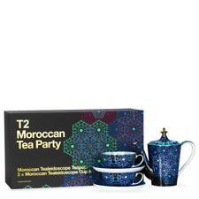 T2 Moroccan Tea Party Tea Pot, Cups and Saucers