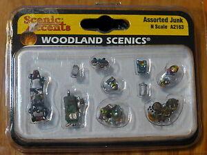 Woodland Scenics N #2163 Assorted Junk