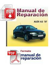 MANUAL DE TALLER Y REPARACION  AUDI A3 GAS Y DIESEL DESDE 1996-1998 PDF