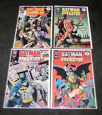 Batman Vs Predator II Bloodmatch 1-4 2 3 Huntress Dark Horse DC Set NMint Rare