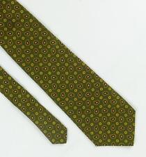 7bb3de225f7c4d Daniels & Korff Mens Green Paisley 100% Silk Classic Extra Wide Fit Tie