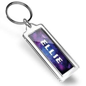 Ellie Name Space Galaxy Keyring   #101398