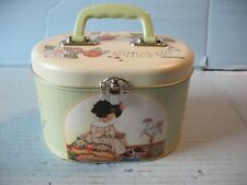 """Mary Engelbreit """"Laugh Yourself Into Stitches"""" Sewing Tin"""