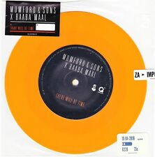 "Mumford & Sons X Baaba Maal - There Will Be Time - 7"" RSD Orange Vinyl 45 - New"