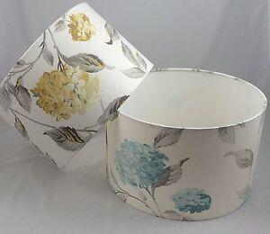 Lampshade Handmade in UK - Laura Ashley Hydrangea Fabric