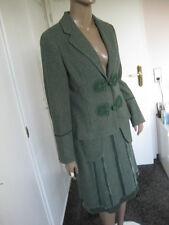 Noa Noa Traum- Kostüm  Gr.M / 40 grün 100% Wolle