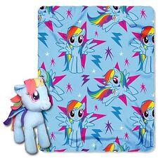 My Little Pony Rainbow Dash Hugger Character Shaped Pillow and Fleece