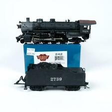 Broadway Limited Wabash 2-8-2 Steam Locomotive & Tender DCC & Sound HO Scale 242