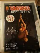 Vampirella Revelations No 0 hand signed by Joe Jusko cover artist 2005