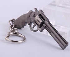Hot Sale Revolver Pistol ​Gun Model Metal Keyring Keychain Weapon Key Ring CA