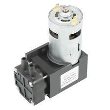 40L/min Mini Vakuumpumpe ölfrei Unterdruckpumpe Vacuum Pump 12V 42W 85Kpa neu