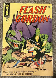 FLASH GORDON No. 2 THE DEATH TRAP OF MONGO ORIGINAL1966