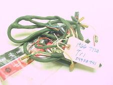NEW NOS TRIUMPH 350 500 650 1966 T120 TR6 T100 LUCAS WIRE HARNESS PART# 54938941
