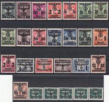 Als Satz-Briefmarken aus dem Generalgouvernement (bis 1945)
