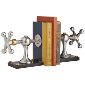 Pendulux - Windlass Bookends - Aluminum