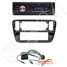 Caliber RMD022 Radio orange + VW up! 1-DIN Blende schwarz + Quadlock-Adapter Set