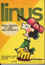 Linus Pointure 6 (207) Juin 1982 Année XVIII