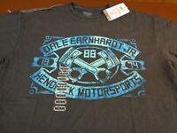 DALE JR  #88 Nascar Racing Hendrick Motorsports Black  T-Shirt  Medium  NEW  L8