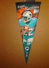 Reggie Bush Miami Dolphins NFL Football Player Premium Pennant