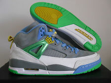 NIKE AIR JORDAN SPIZIKE STEALTH GREY-GREEN-BLUE SZ 10.5 EASTER! [315371-056]