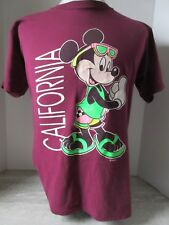 Vintage Mickey Mouse Unlimited Purple T-Shirt Size Medium Made in USA