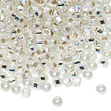 200 Rainbow Silver Lined Matsuno 6/0 Glass Seed Beads Spacer Beads