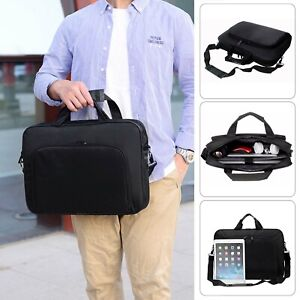 15 inch Laptop PC Waterproof Shoulder Bag Carrying Soft Notebook Case Cover UK