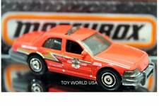 2017 Matchbox City Works 2006 Ford Crown Victoria Fire Chief