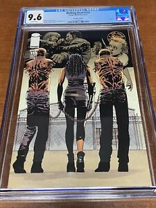 The Walking Dead CGC GRADED 9.6  Issue # 115 Variant Cover C Machone Cover
