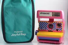 Polaroid 636 Closeup Instant Camera Joyful Bag Rare Color Pink **Exc+**(#1174)