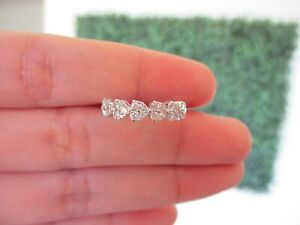 ".51 CTW Diamond Ring 18k White Gold JS21R sep ""SP"""