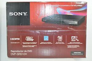 Sony DVD Player DVP-SR510H Upscaling HDMI 1080p Full HD Multi-Format