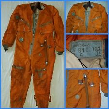Russian Soviet pilot flight suit  overall USSR Air Force VMSK-4 MIG-25 TU-22M3