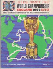 Official Tournament Programme / Programma FIFA World Cup 1966 England