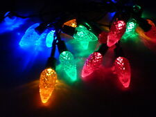 5.9M 50 LED Multi Colored Solar Pine Cone Christmas Party Outdoor String Lights