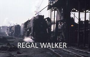 ORIGINAL 35MM CR CHINA CHINESE RAILWAY SLIDE QJ STEAM SCENE AT SHENYANG 1988