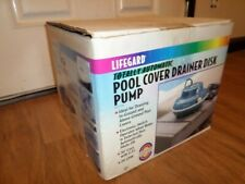 Pentair Rainbow Lifegard Submersible Pool Cover Disc Pump