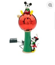 disney store mickey minnie mouse light up Christmas tree topper decor