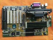 Scheda Madre SOYO 6BA+ IV Slot Isa PCI e Cpu Intel Pentium 3 600EB SL3H7 Slot 1