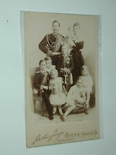 Guillaume II, and the Imperial Family Germany 11x16cm real photo roll
