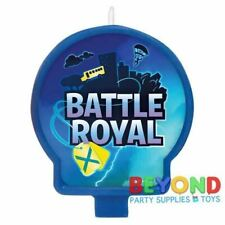 Fortnite Battle Royal Birthday Cake 1x Candle ~ Birthday Party Supplies Cake top