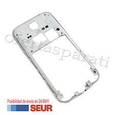 Repuesto Chasis Trasero con Marco para Samsung Galaxy S4 I9500 I9505 Blanco