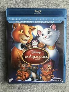 Los Aristogatos (The Aristocats) : Spanish : Blu-Ray + DVD : Disney