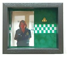 More details for medium paramedic medal display case with photograph for 1 medal