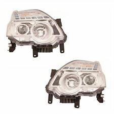 To Fit Nissan X-Trail Mk2 T31 2011-10/2014 Headlights Headlamps 1 Pair O/S & N/S