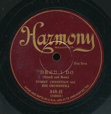 14pc78-dance -Harmony 348-Tommy Christian and his  Orch.