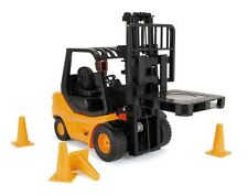 LARGE REMOTE R/C RADIO CONTROLLED FORK LIFT TRUCK WITH LIFT ACTION BOYS ELECTRIC