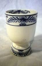 RARE Vintage Antico Cauldon Meissen Stile blu e bianco CALICE COPPA
