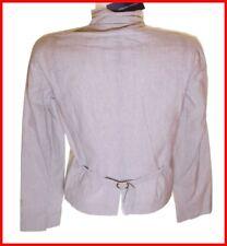 Bnwt Women's French Connection Striped Blazer Jacket Coat UK16 New RRP£90 Fcuk